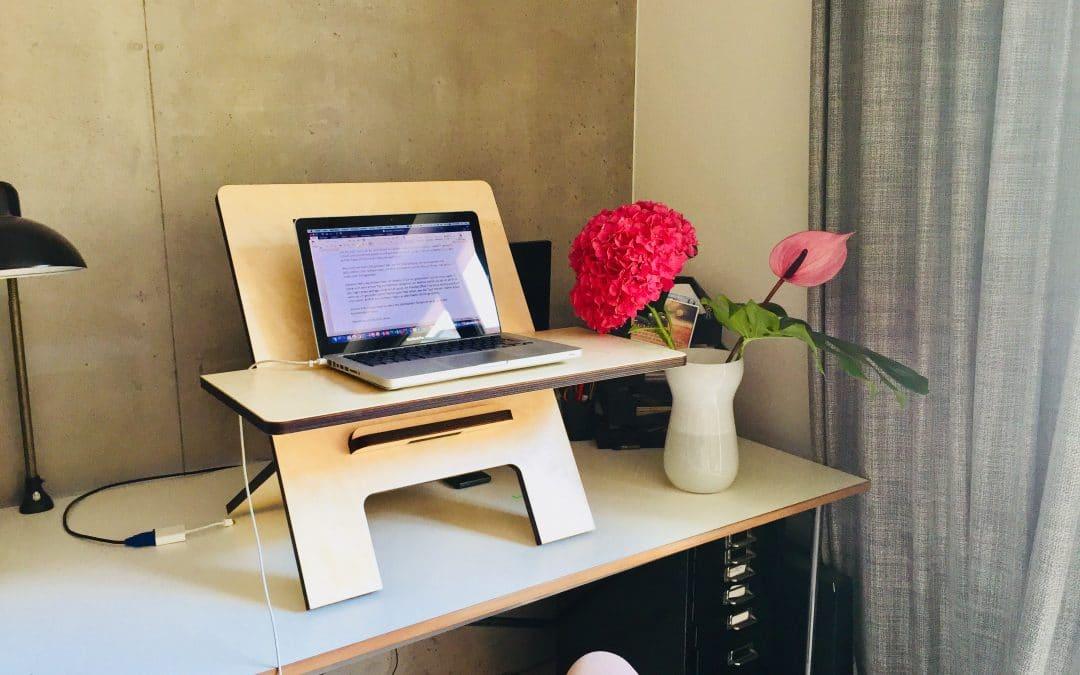 Stehtisch im Büro: Pro und Contra